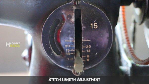 Stitch Length Adjustment