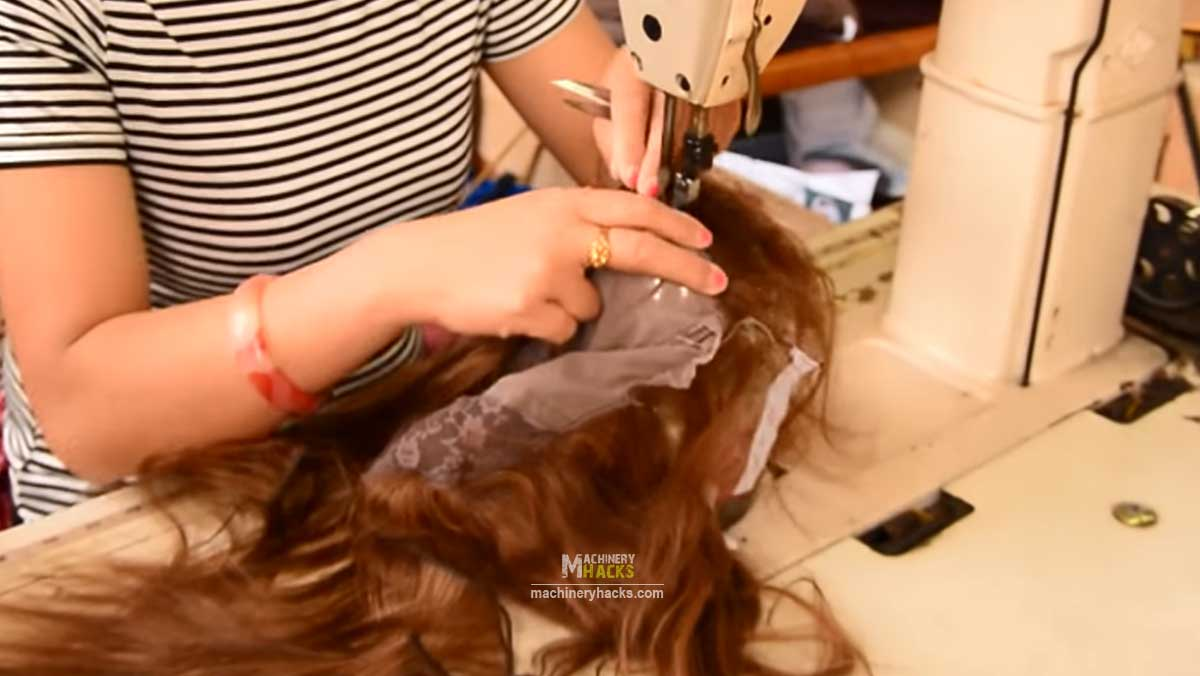 sewing wigs