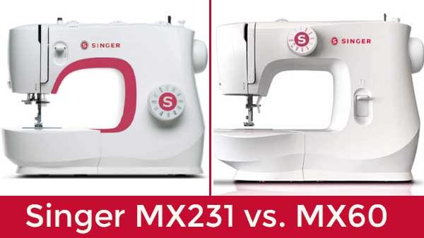 Singer MX231 vs. MX60