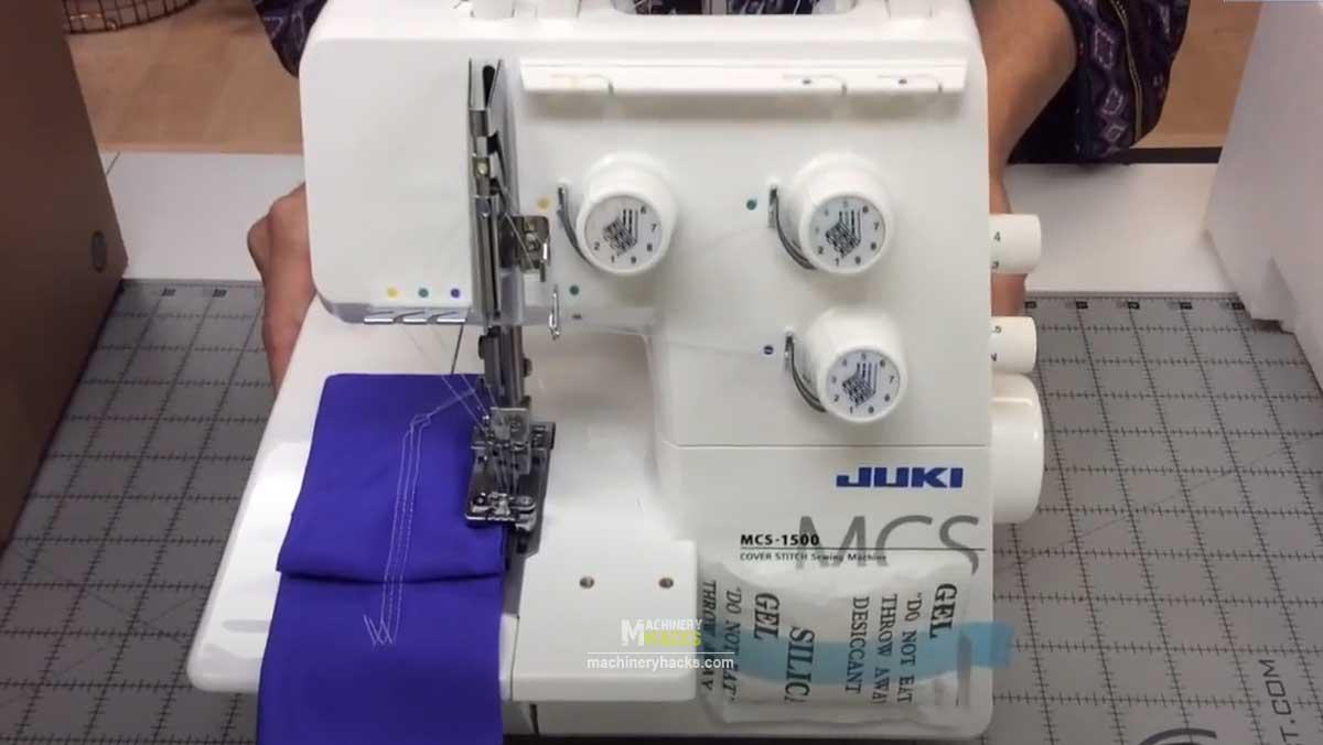 Cover Stitch Chain Sewing Machine